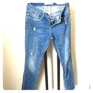 Bullhead Denim low rise skinny jeans